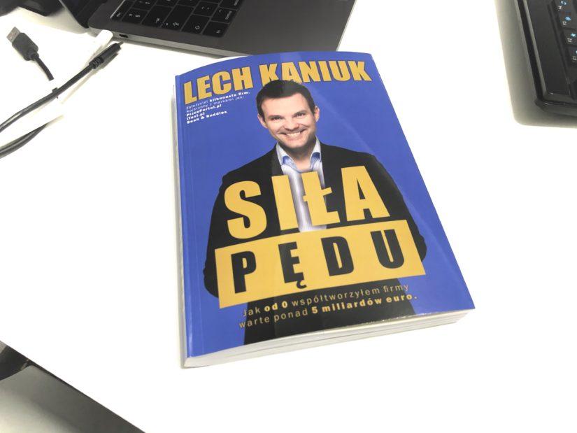 Lech Kaniuk, siłą pędu - zasady produktywności