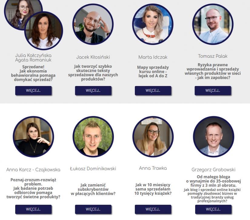 Konferencja online produkt next level